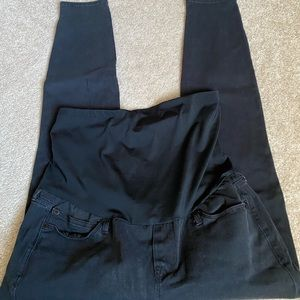 Black gap full panel legging jean